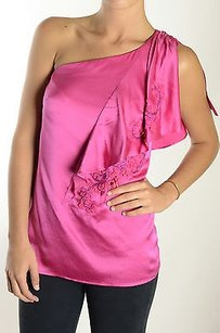 Nanette Lepore Love Triangle Top Pink