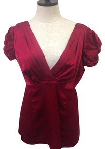Nanette Lepore Womens Top Red