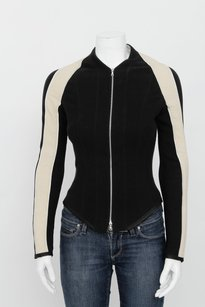 Narciso Rodriguez Black Nude Multi-Color Jacket