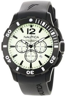 Nautica Nautica Bfd 101 Black Resin Mens Watch N20059g