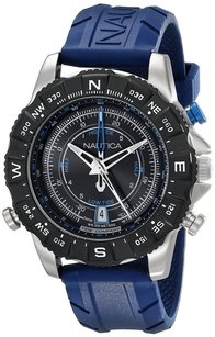 Nautica Nautica Men's NAD20005G NSR 103 Stainless Steel Watch with Blue Band