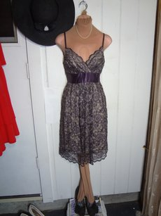 Necessary Objects Feminine Dusty Plum Dress