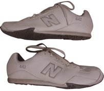 New Balance Women's Sneakers white & heather gray Athletic