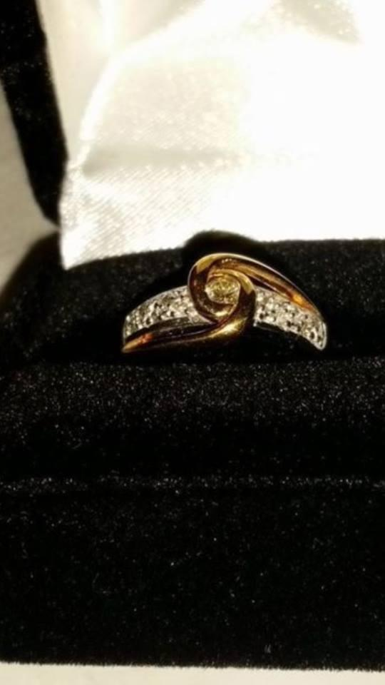 New Lovers Knot By Size 6 Sharon Michael Ring Tradesy