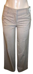 New York & Company Co Striped Wide Pants