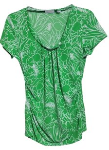 New York & Company Machine Washable Top Green
