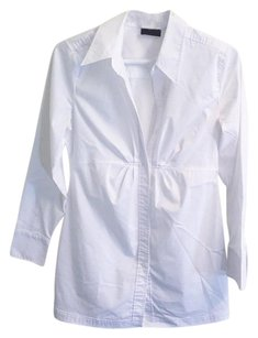 New York & Company & Nyc Blouse Chic Button Down Shirt white