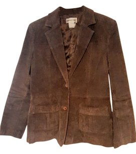 Newport News Leather Brown Leather Jacket