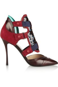 Nicholas Kirkwood Womens Nk_14a001pp01_dkred_37.5 Red Pumps