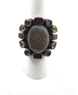 Nicky Butler Vintage Nb Nicky Butler .925 Multi Stone Gemstone Ring