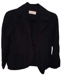 NICOLE FARHI Fall Style London Navy Blue Blazer