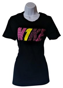 Nike Logo Activewear T Shirt Black