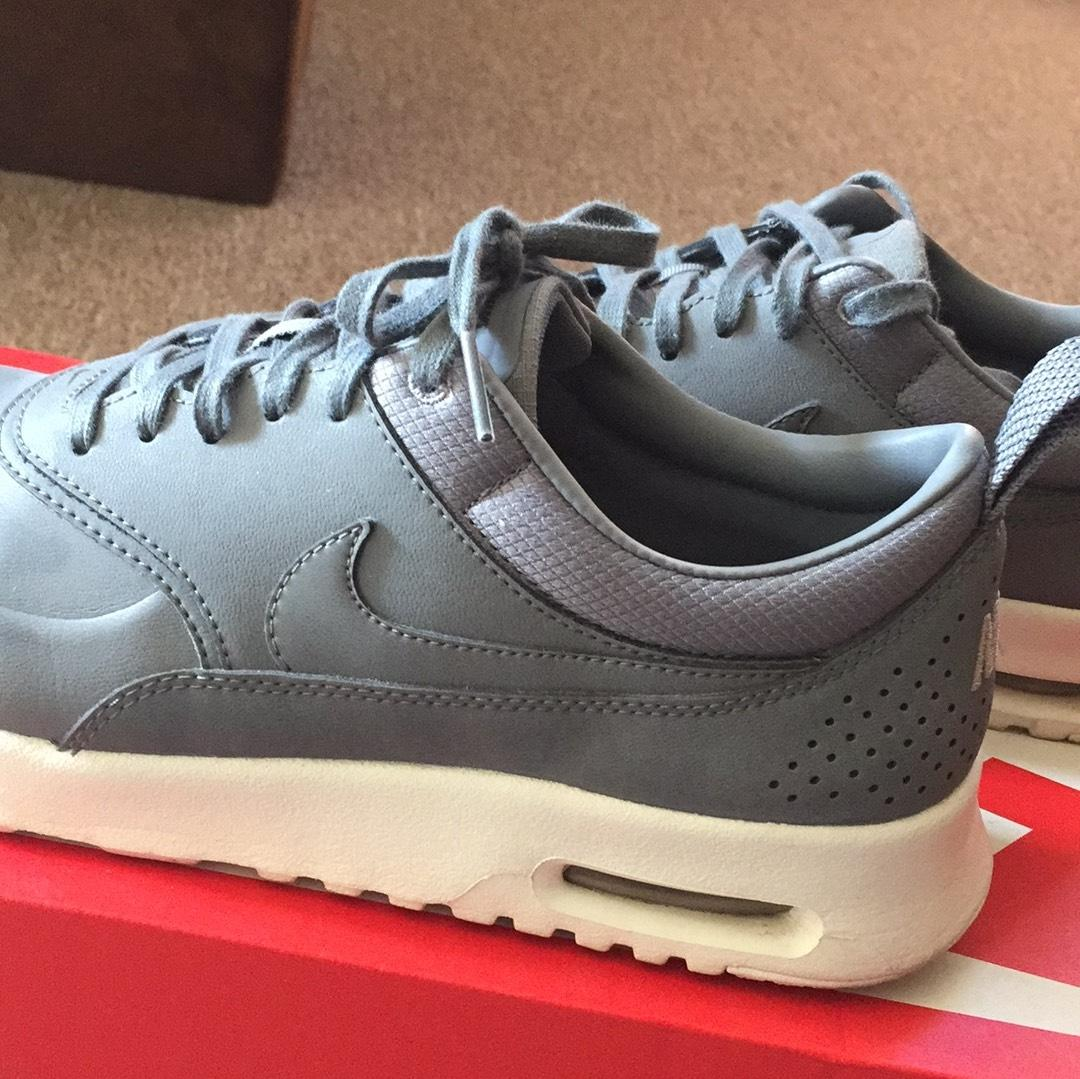 low priced 9f591 6fa62 ... nike air max baskets taille nous grise grise grise ordinaire (m, ...
