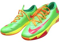 Nike Lime green/yellow/orange/red Athletic