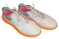 Nike Pure Platinum/White/Bright Orange Athletic