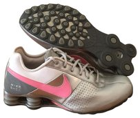 Nike Silver and Pink Athletic