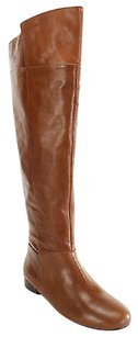Nine West Womens Dark Natural Leather' Boots