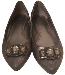 Nine West Gray Flats