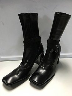 Nine West Synthetic Black Boots