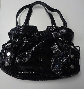 Nine West Sequenced Metallic Polyester Blend B3224 Shoulder Bag