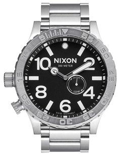 Nixon Nixon 51-30 Men's Black Dial Stainless Steel Watch