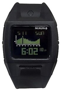 Nixon Nixon Lodwown Black Polyurethane Unisex Watch A289000