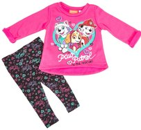 Nwt Paw Patrol Fleece Top With Leggings 3t Outfit