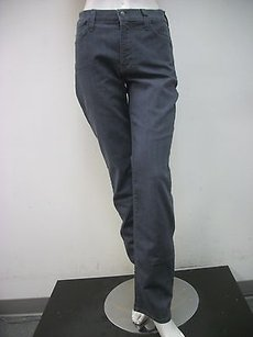NYDJ Not Your Daughters Gray Style 2631 Made In Usa Straight Leg Jeans