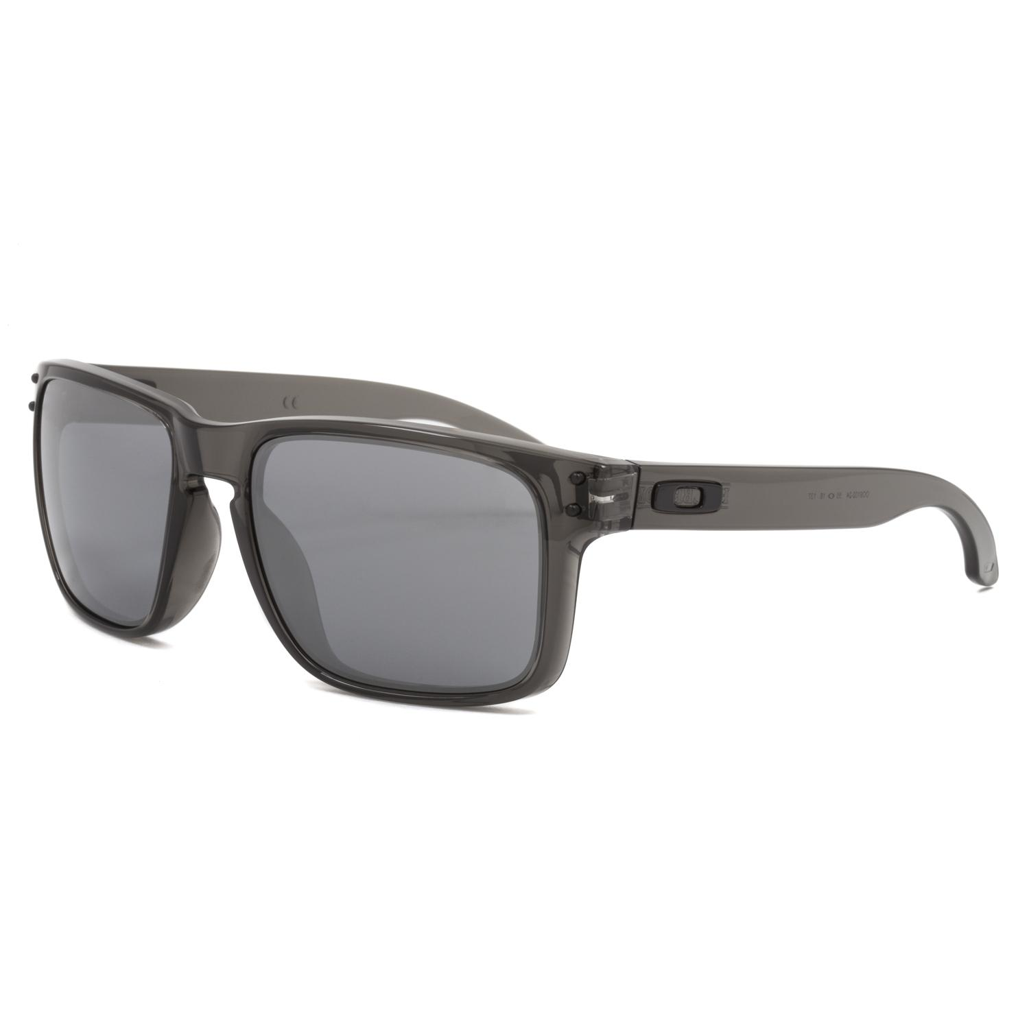Oakley Holbrook OO9102 02 57 polished black / grey polarized N0q9S3C