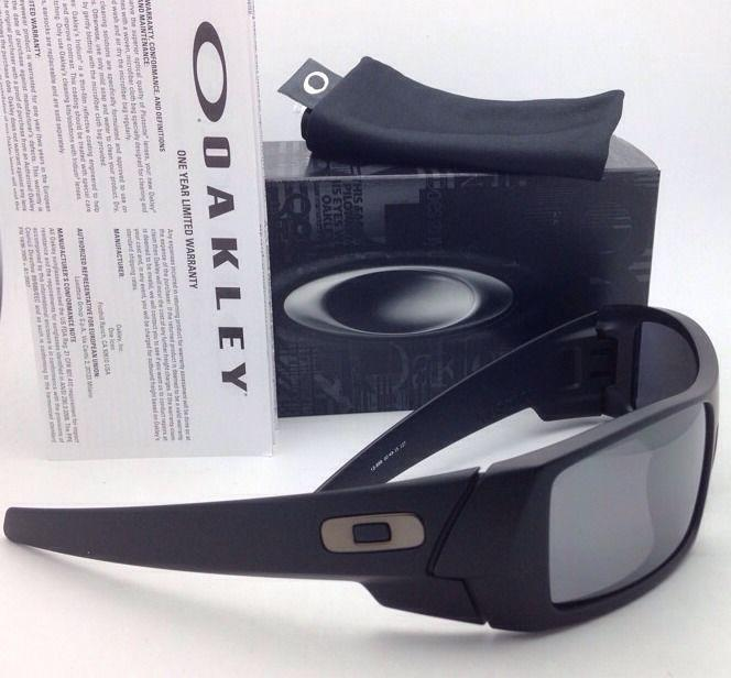 new oakley polarized sunglasses  oakley new oakley polarized sunglasses gascan 12 856 matte black frame w/ black iridium