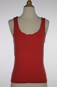 Odille Womens Solid Top Orange
