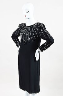 Black Maxi Dress by Oleg Cassini Vintage