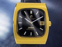 Omega 1960s Omega Constellation Automatic Swiss Gold Plated Mens Watch 7154