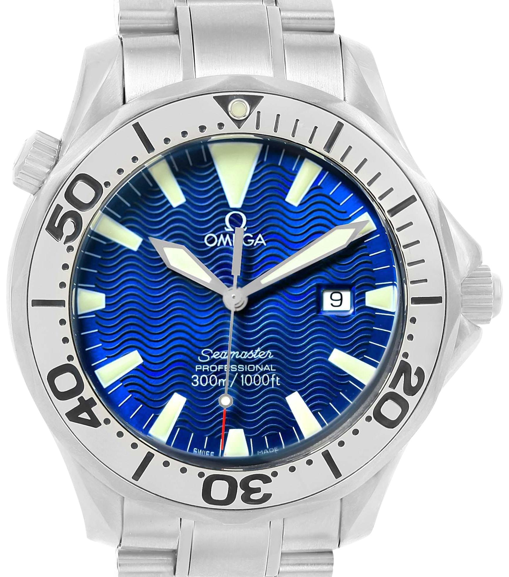 omega-blue-seamaster-electric-wave-dial-