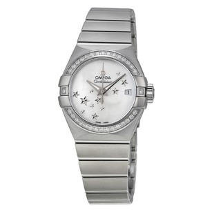 Omega Constellation Automatic Diamond Mother of Pearl Dial Ladies Watch
