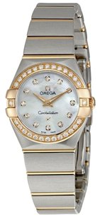 Omega Constellation Mini Diamond Ladies Watch 12325246055001