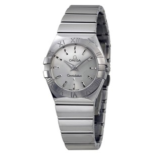 Omega Constellation Polished Stainless Steel Ladies Watch 12310276002002