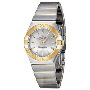 Omega Constellation Silver Dial Stainless Steel Ladies Watch 12320276002002