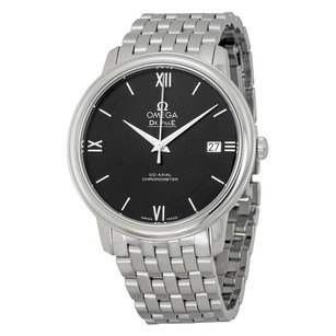 Omega De Ville Prestige Co-Axial Automatic Black Dial Stainless Men's Watch