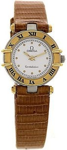 Omega Ladies Omega Constellation Ss18k Yellow Gold 5950102