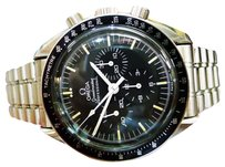 Omega Mens Omega Speedmaster Professional Chronograph Stainless Steel Moon Watch