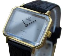 Omega Omega Andrew Grima Deville Manual Mensgold Plated Vintage Watch From 1960s Mx22