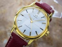 Omega Omega Seamaster Calibre 600 Manual Gold Plated 1960s Swiss Made Dress Watch L123
