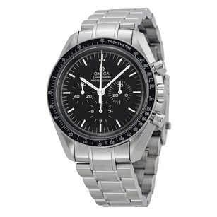 Omega Speedmaster Professional Black Dial Stainless Steel Men's Watch