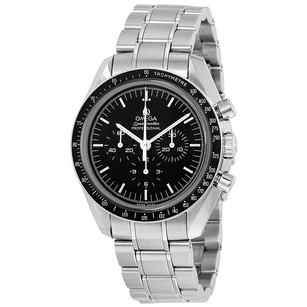 Omega Speedmaster Professional Moon Black Dial Stainless Steel Men's Watch