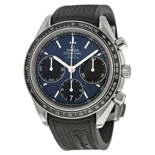 Omega Speedmaster Racing Automatic Blue Dial Stainless Steel Men's Watch