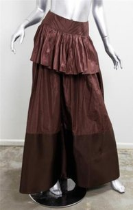 Oscar de la Renta Skirt Brown