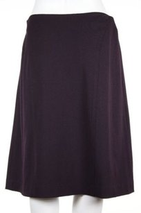 Oscar de la Renta Womens Skirt Purple