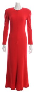 Red Maxi Dress by Oscar de la Renta Hayman