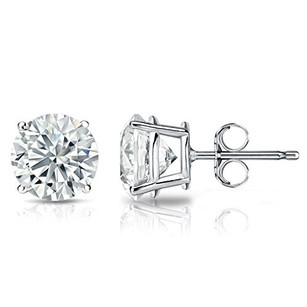 1 Carrat 4 Prong Diamond Stud Earrings